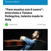 Tiziano Pellegrino credited on Indie Music Magazine