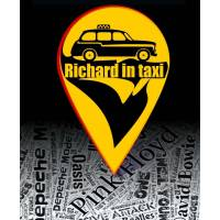 Richard in taxi