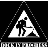 rock in progress....